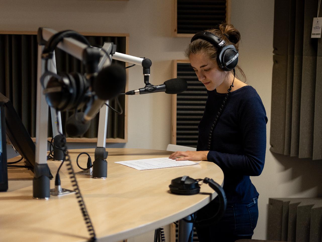 Studio radio - Juliette
